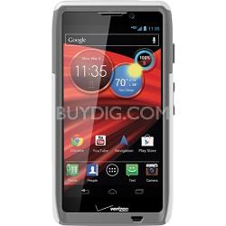 Commuter Series Case for Motorola RAZR MAXX HD Retail Packaging - Glacier White