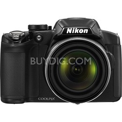 COOLPIX P510 16.1MP 42x Opt Zoom Black Digital Camera - Factory Refurbished
