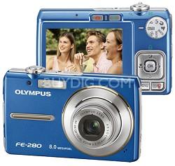 FE-280 Digital Camera (Blue)