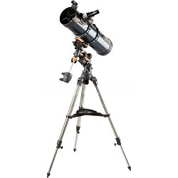 "AstroMaster 130 EQ MD 5.1""/130mm Reflector Telescope Kit   NEW TORN BOX"