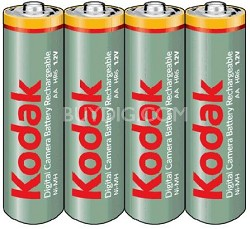 Pack OF 4 2100 AA NMH Rechargeable Batteries (charger not included)