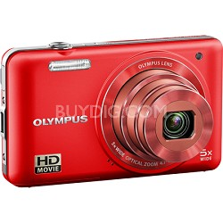 VG-160 14MP 5x Opt Zoom Red Digital Camera