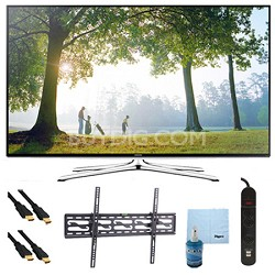 "UN50H6350 - 50"" HD 1080p Smart HDTV 120Hz with Wi-Fi Tilt Mount & Hook-Up Bundle"
