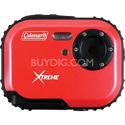 Mini Xtreme 5.0 MP Digital Video / Still Camera Anti-Shake and Waterproof (Red)