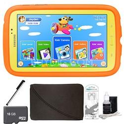 """Galaxy Tab 3 7.0"""" Kids Edition Plus 16 GB Accessory Bundle"""