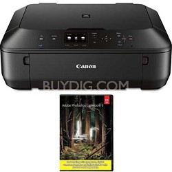 PIXMA MG5620 Wireless All-in-One Printer (Black) + Adobe LR5