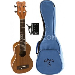 KP-S Kohala Soprano Ukulele Pack w/Bag and Tuner