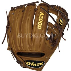 A2000 DP15 D. Pedroia Game Model Fielder Glove - Right Hand Throw - Size 11.5""