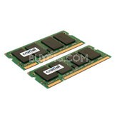 2GB Kit (2x1GB) 200-Pin PC2 5300 667Mhz SODIMM DDR2 RAM