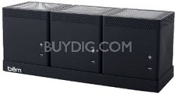 HL2002B Speaker Trio for Smartphones - Retail Packaging - BLACK