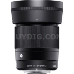 30mm F1.4 DC DN Lens for Micro 4/3 Mount - 302963