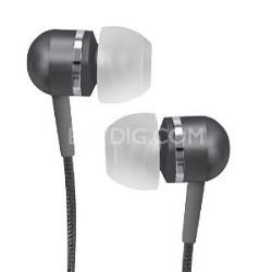 CVEM79BLK Jammerz Platinum High-Performance Isolation Stereo Earphones (Black)