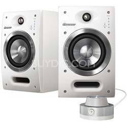 """S-DJ05-W 5"""" Active 2-Way Reference Monitoring Speakers (Pair)"""