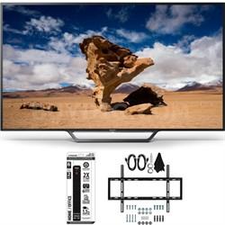 KDL-40W650D 40-Inch Class Full HD 1080P TV with Slim Flat Wall Mount Bundle