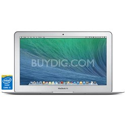 "11.6"" 128GB MacBook Air Laptop Computer - 1.4GHz Dual-Core Intel Core i5 Process"