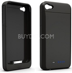 Power DX External Protective Battery Case for iPhone 4S & 4 (Matte Black)