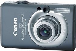 Powershot SD1200 IS 10MP Digital ELPH Camera (Dark Gray)