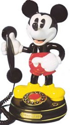 Mickey Mouse Character Phone  {028395}