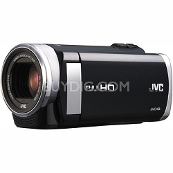 "GZ-E200BUS - HD Everio Camcorder f1.8 40x Zoom 3.0"" Touchscreen (Black)"