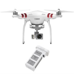 Phantom 3 Standard Quadcopter Drone with 2.7K Camera And Extra Battery
