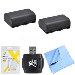 Essential LP-E6 Battery Bundle for Canon EOS 5D Mark III, 6D, 60D, 7D, 70D