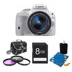 EOS Rebel SL1 Digital SLR with EF-S 18-55mm IS STM Lens White Kit