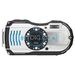 WG-3 16MP White  Waterproof Shockproof Crushproof Digital Camera