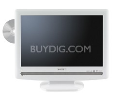 "19LV506 - 19""  High-definition LCD TV w/ built-in DVD Player (Hi Gloss White)"