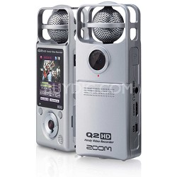 Q2HD Handy HD Video and Audio Recorder - Silver