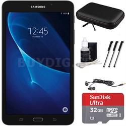 """Galaxy Tab A Lite 7.0"""" 8GB Tablet (Wi-Fi) Black 32GB microSDHC Accessory Bundle"""