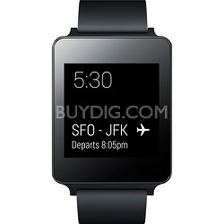 Android Wear Water and Dust Resistant Black Smart G Watch