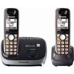 KX-TG6512B DECT 6.0 PLUS Expandable Digital Cordless Phone