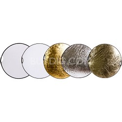 42-inch 5-in-1 Collapsible Reflector Disc with Handles