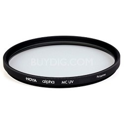 Alpha UV 72mm Filter