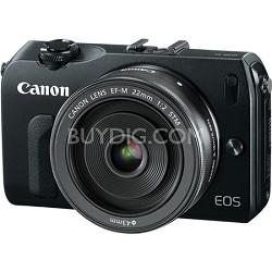 EOS M 18MP SLR Camera w/ 22mm STM f/2 Lens & 3.0-inch Touchscreen