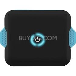 EP-03-4400B-BLU Enerpak Flexi Portable USB Battery w/ Charging Cable Black/Blue