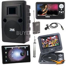 Liberty Platinum Bonus Augen Tablet & Naxa LCD TV & DVD player Kit