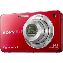 Cyber-shot DSC-W560 Red Digital Camera - OPEN BOX
