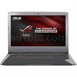 "G752VT-RH71 I7-6700HQ 16 GB RAM, 1 TB Hard Drive 17.3"" Laptop, Grey"