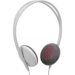 Pivot On Ear Headphones - Ash/Pink
