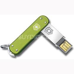 Alox 8GB Slim Flight USB Drive Green (4.6171.24G8)