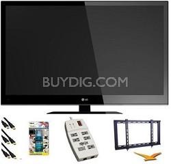 55LV4400 55 inch 1080p 120hz LED HDTV Essentials Bundle