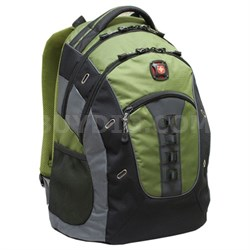 SwissGear Granite Deluxe Laptop Backpack (Green /Black)