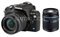 Evolt E-410 10 MP Digital SLR, 14-42mm & 40-150mm Lenses