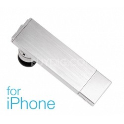 PDD-00005-01 Metal Evolution Bluetooth Headset for iPhone 4 & 3GS Silver