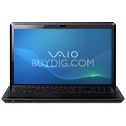 VAIO VPCF223FX/B - 16.4 Inch Laptop Full HD Core i7-2630QM Processor