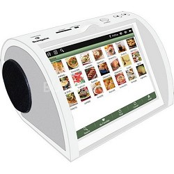 "NetChef Networked Kitchen Recipe Device with 8"" LCD Screen"
