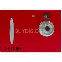 ZE-DC26 Point & Shoot Digital Camera - Red