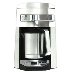 12-Cup Programmable Drip Coffee Maker - Silver - OPEN BOX