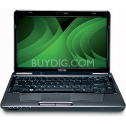 "Satellite 14.0"" L645-S4104 Notebook PC - Gray Intel Core i3-380M Processor"